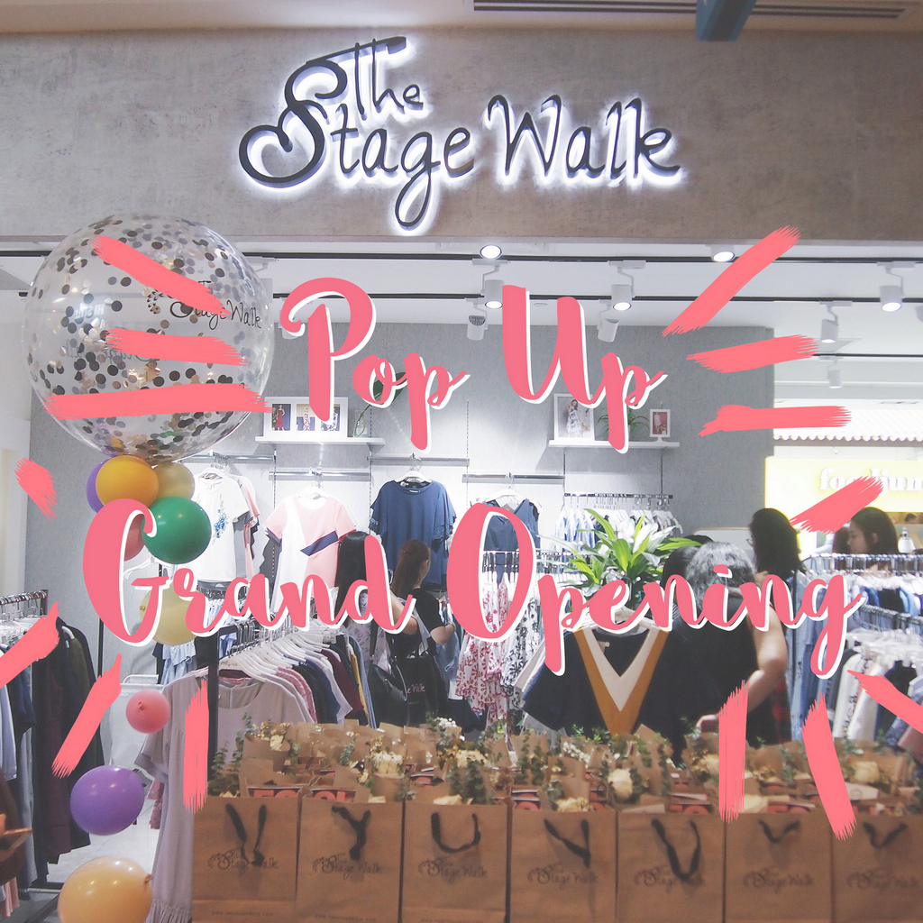 Opening of TSW Pop-Up Store at Bugis Junction