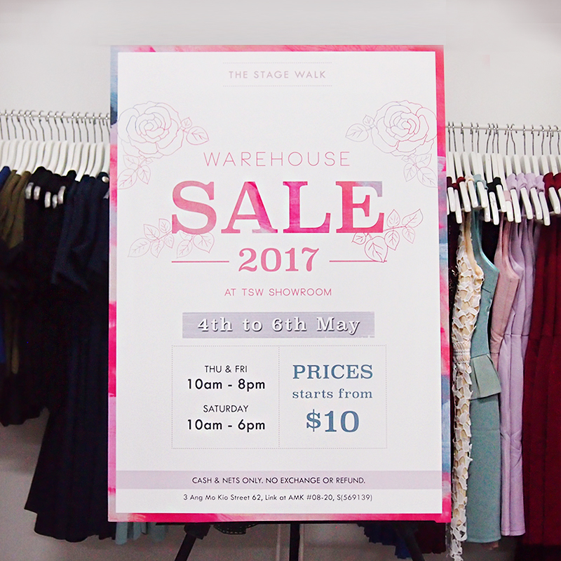 TSW Warehouse Sale 2017