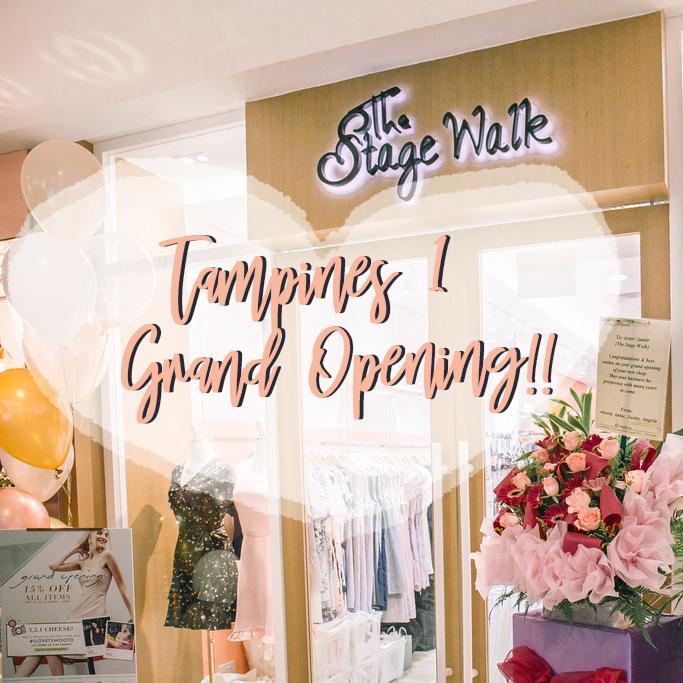 Grand Opening of TSW Tampines 1 Store