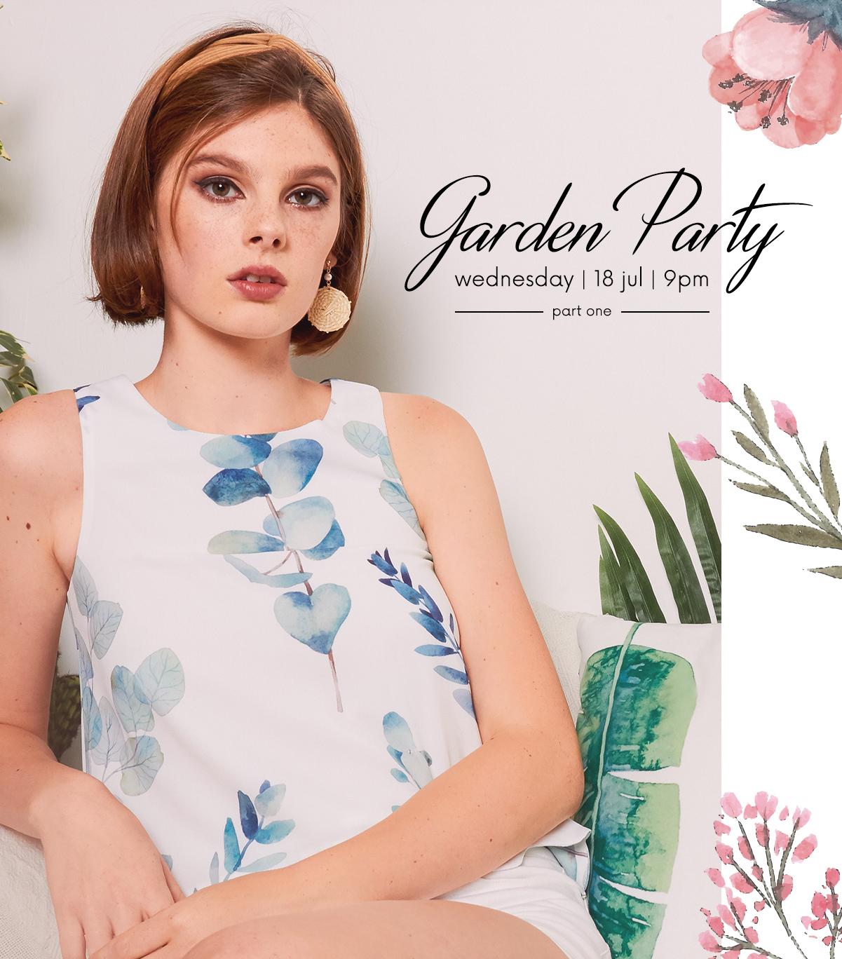 GARDEN PARTY (I)