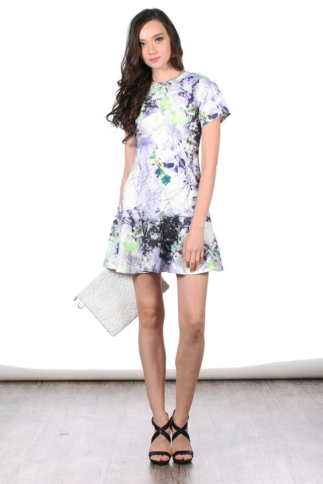 TSW Tiara Dropwaist Dress in Daisy Dreams (XS)