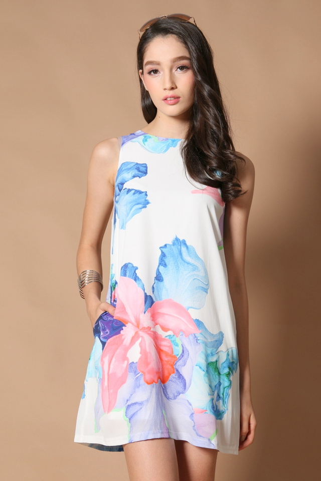 *RESTOCK* TSW Yoni Pocket Dress in Carnation
