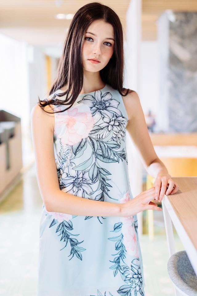 TSW Yoni Pocket Dress in Mint (XS)