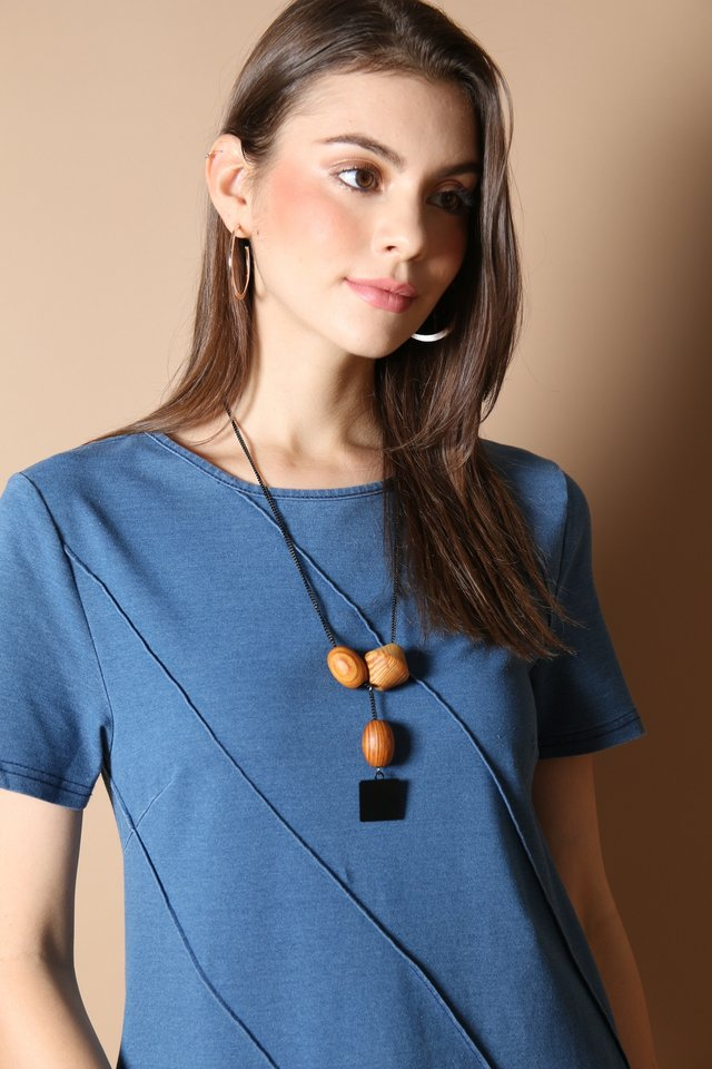 Flinn Wooden Necklace
