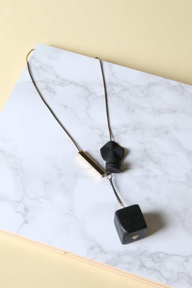 Sullivan Geometric Y Chain Necklace