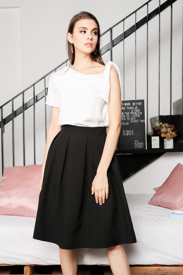 Akira Toga Top in White (L)