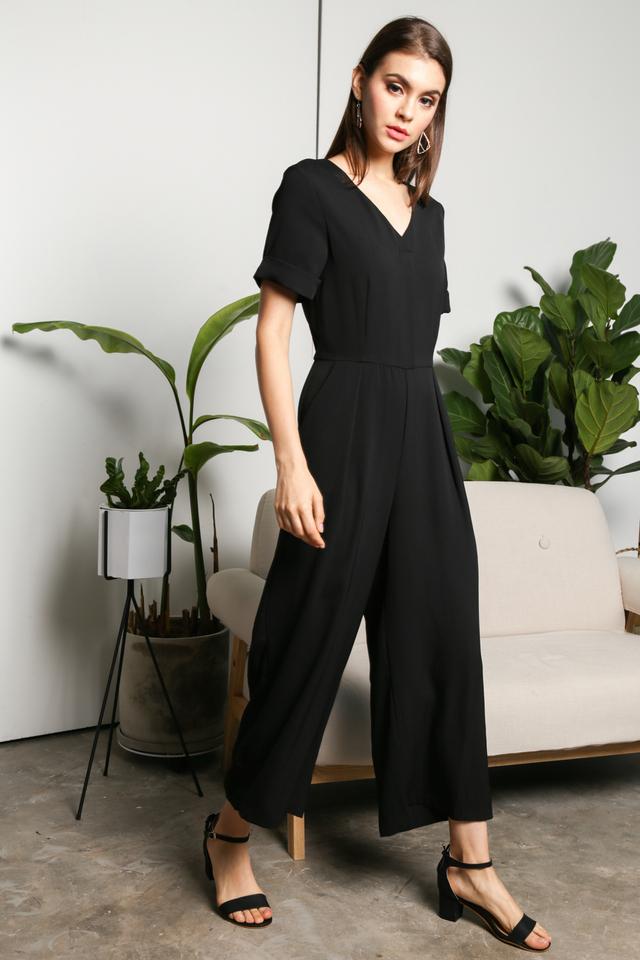 Lia Classic Jumpsuit in Black