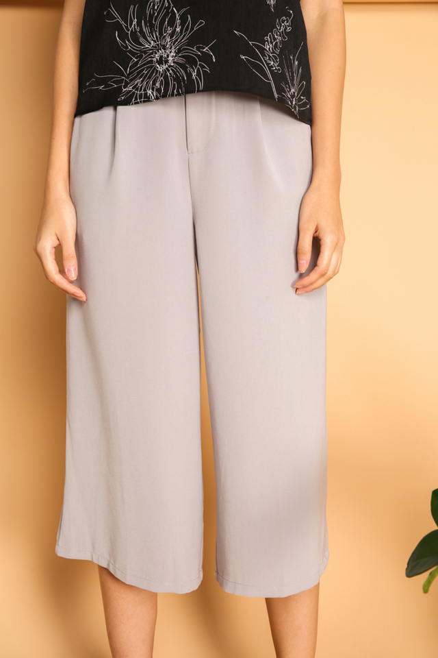 Jermaine Flare Culottes in Grey