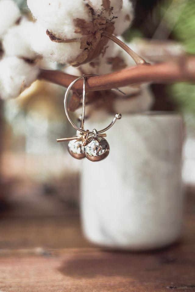 Ying Round Loop Earrings