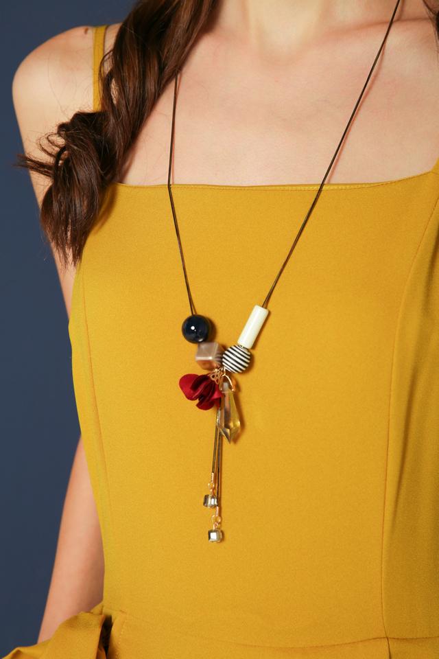Fleur Geometric Necklace