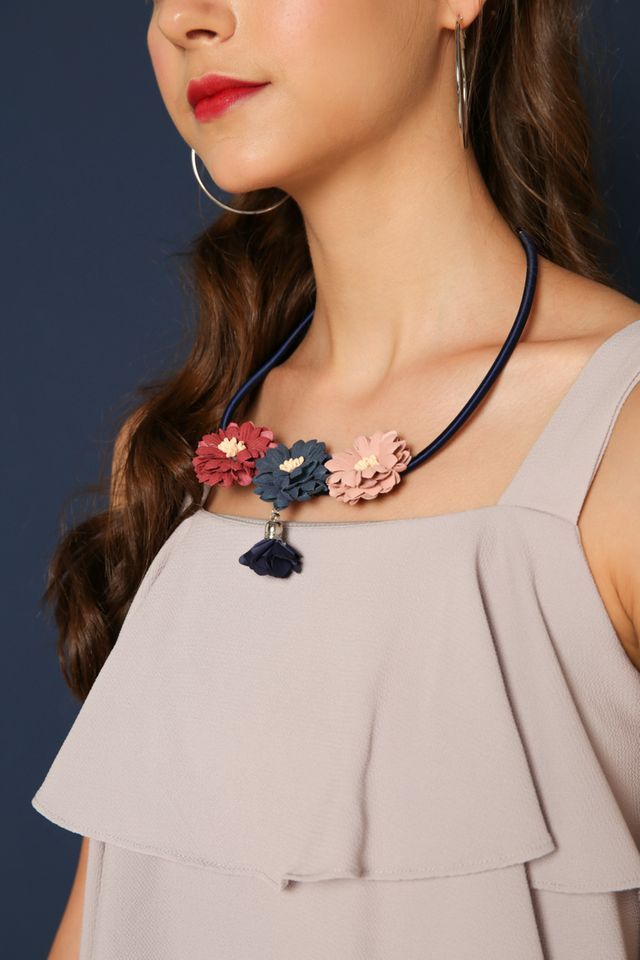 Marisole Floral Necklace
