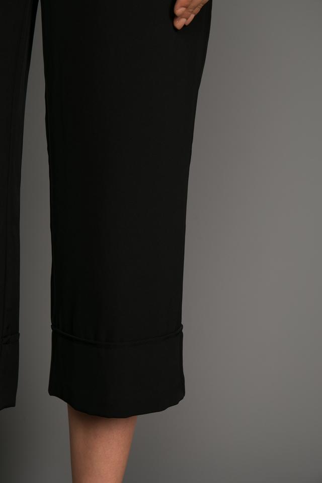 Nolan Folded Culottes in Black