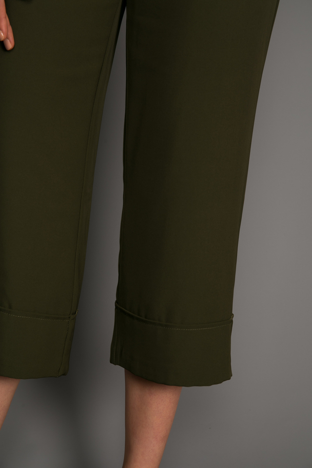 Nolan Folded Culottes in Olive
