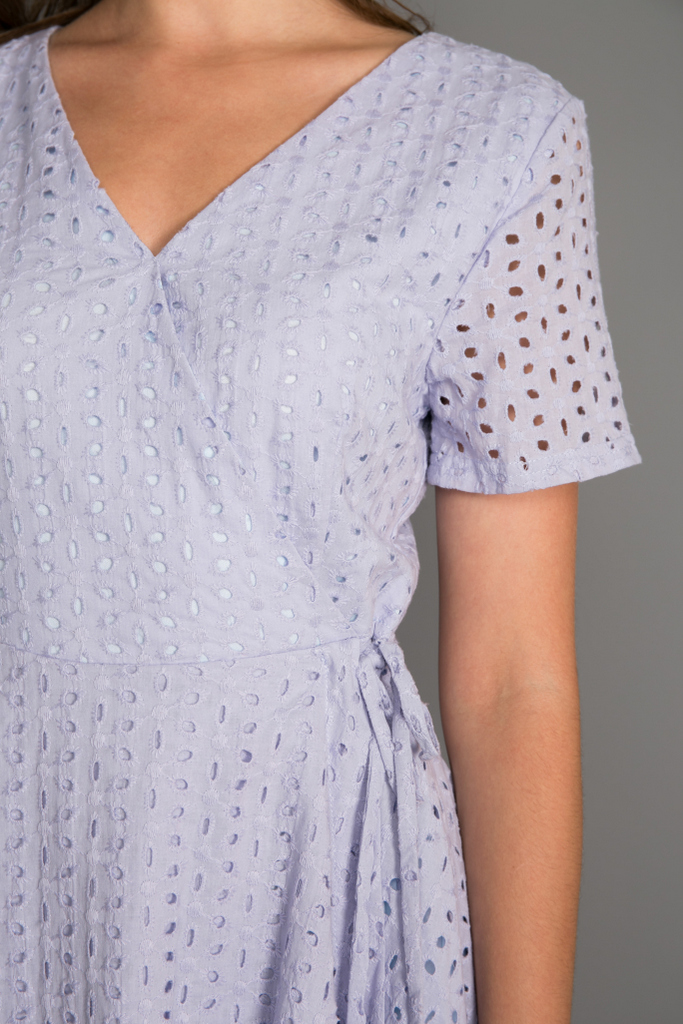 Ginny Eyelet Skater Dress in Periwinkle 8dab5aa4a