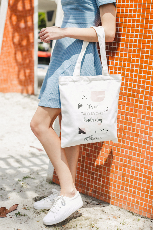 """It's an add to cart kinda day"" Tote Bag"