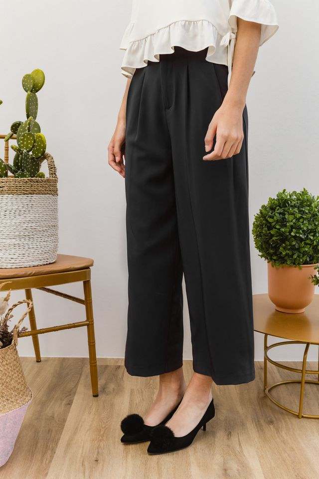 Cantara High Waisted Culottes in Grey