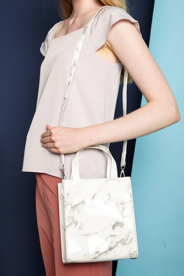 Noemi Mini Marble Handbag