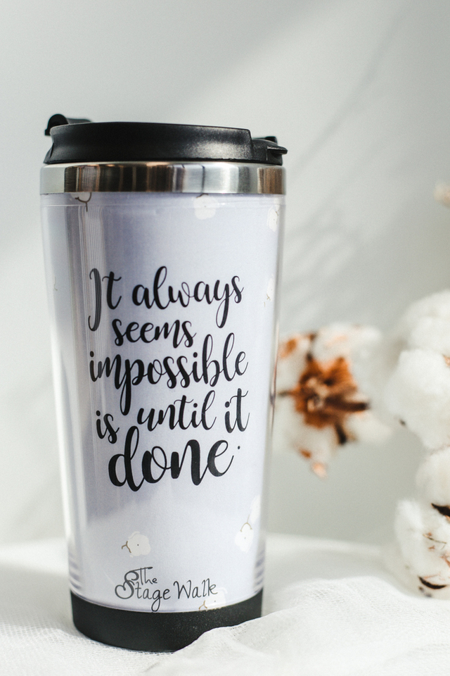 Nothing Is Impossible Tumbler