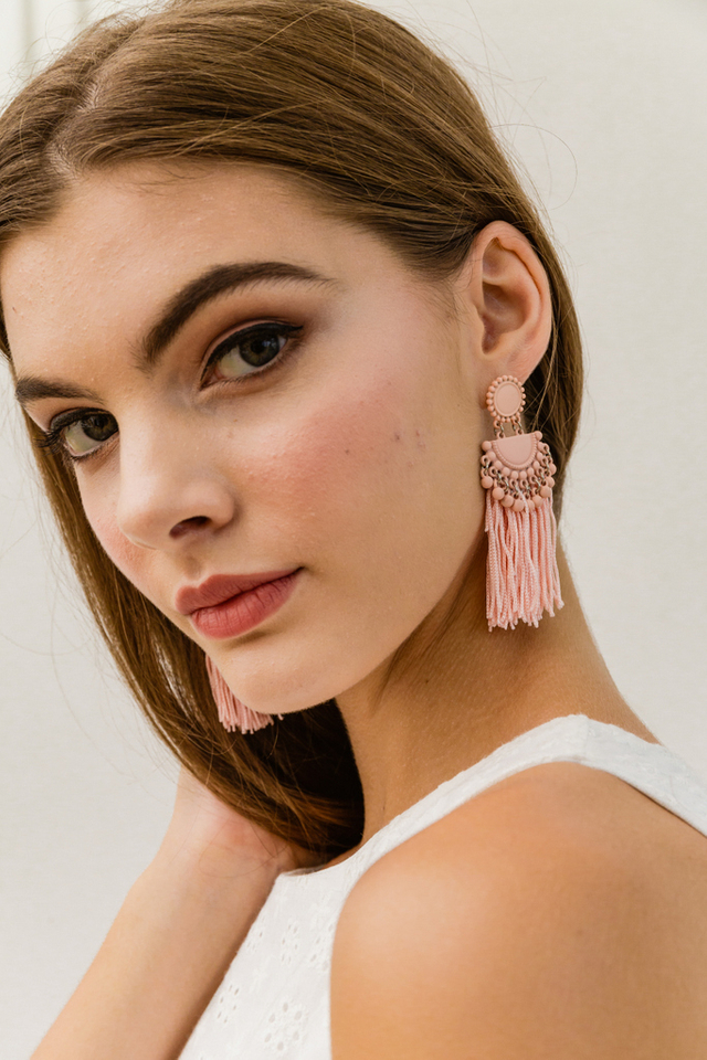 Florynce Tassel Earrings