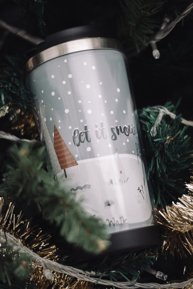 Let It Snow Tumbler