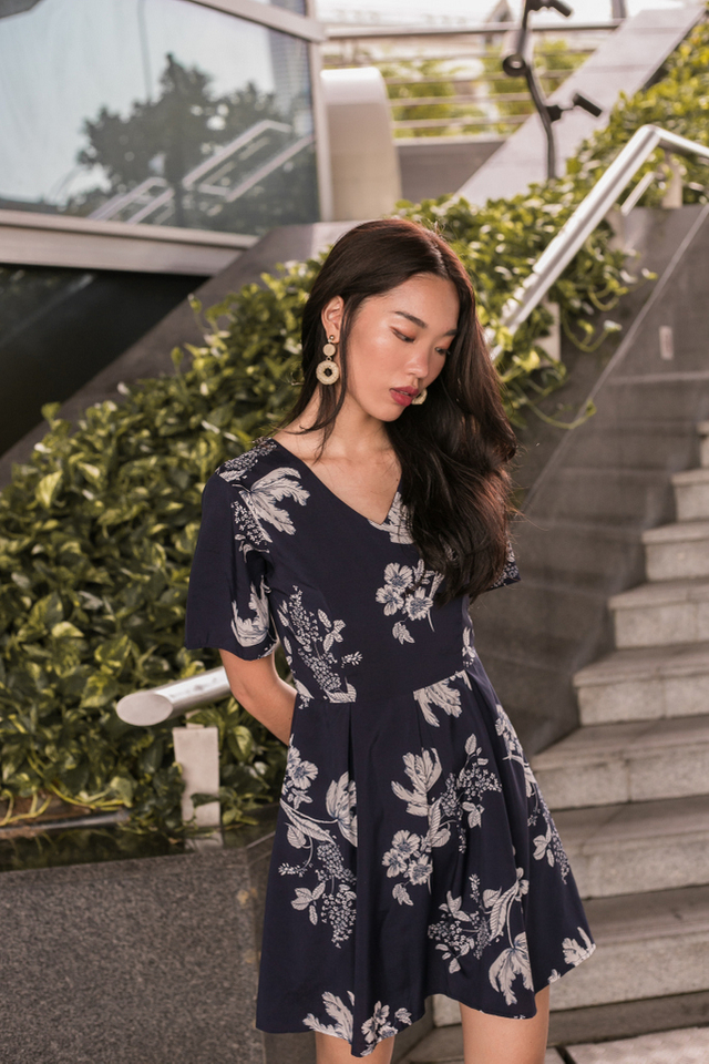 *RESTOCK* Willow Floral Soft Pleated Dress