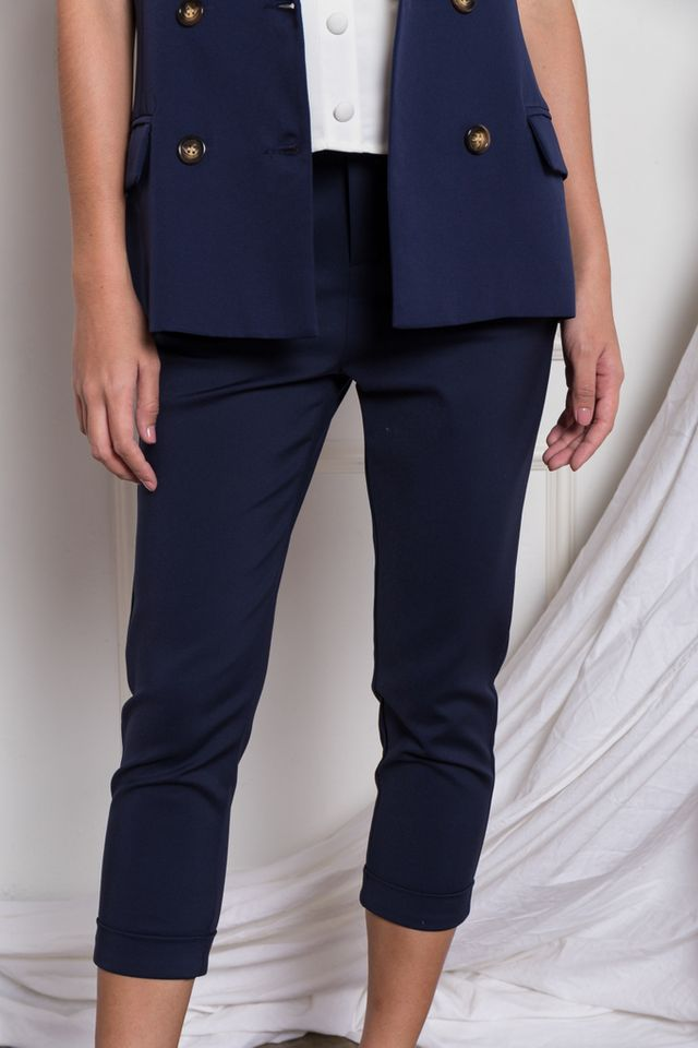 Larsen Tapered Work Pants in Navy