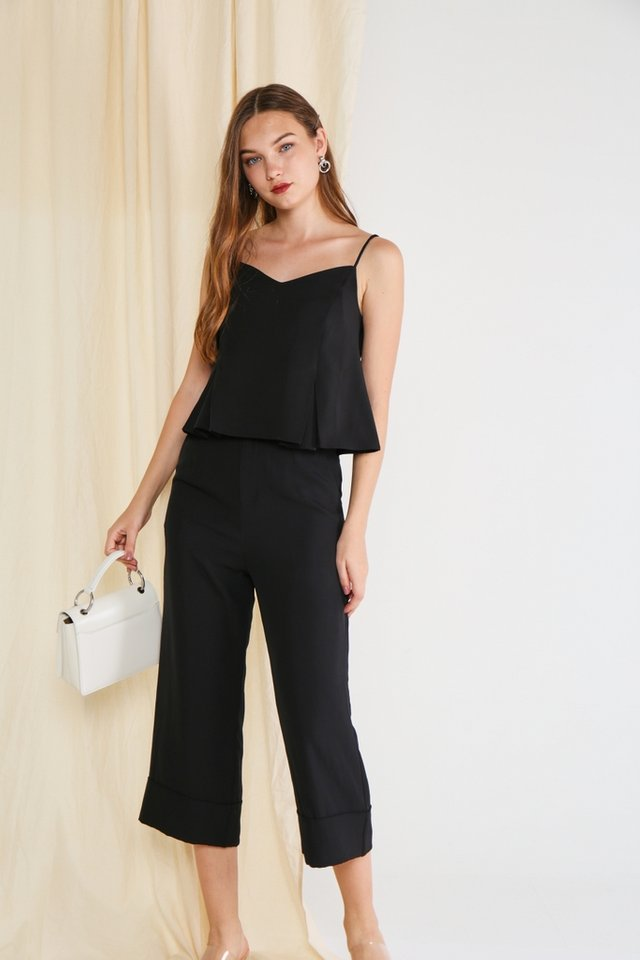 Arabella Camisole Top in Black