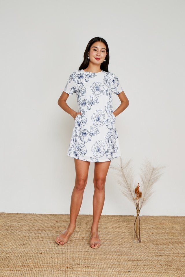 Alyssa Floral Shift Dress