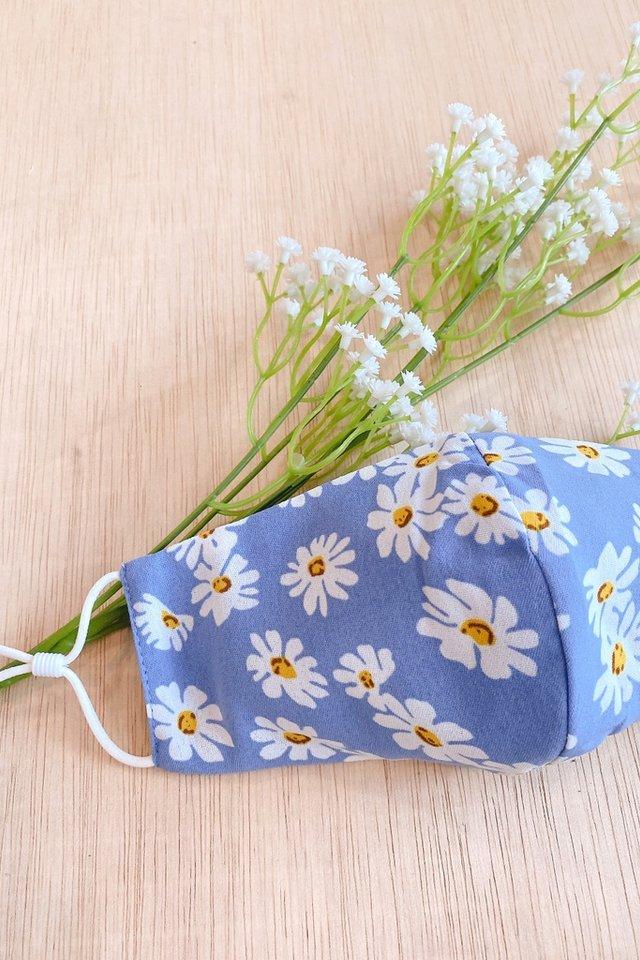 TSW Sweet Daisy Mask in Blue